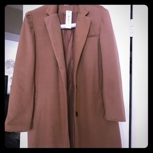Camel colored coat